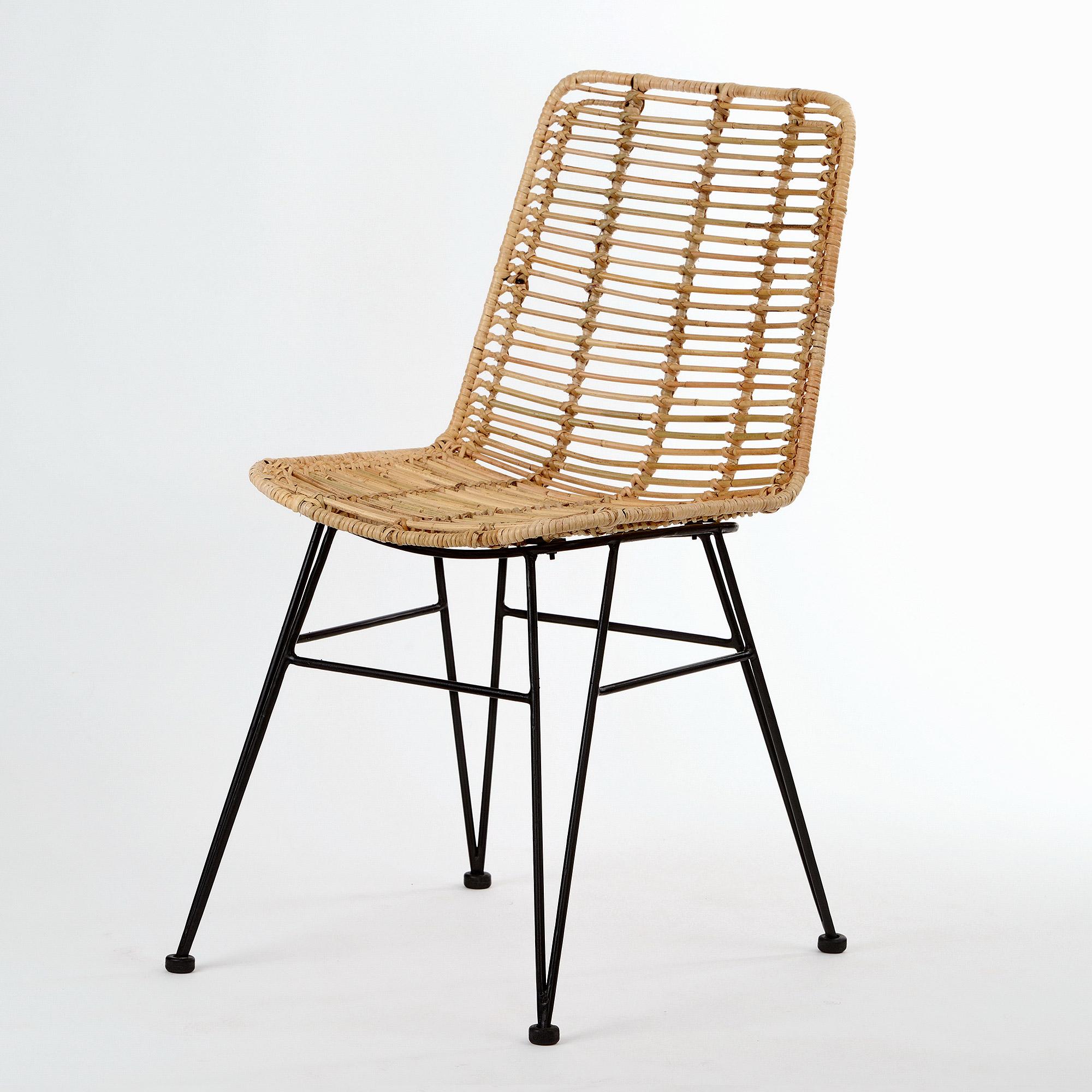animal-design Rattan Stuhl MAGY (9) moderner Flechtstuhl Korb Stuhl  Esszimmer Wohnzimmer  animal-design