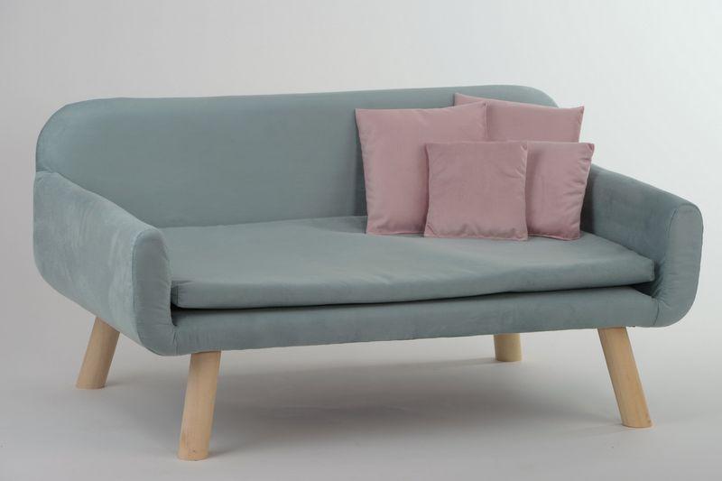 animal-design Hundesofa NEW (22145) mit Kissen Polstersofa Couch Hundebett Katzenbett Schlafplatz für Hunde und Katzen versch. Farben