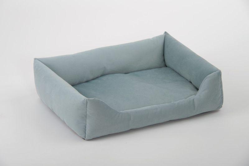 animal-design Kuschelsofa (22093) für Hunde und Katzen Hundebett Katzenbett Größe 2 blau rosa