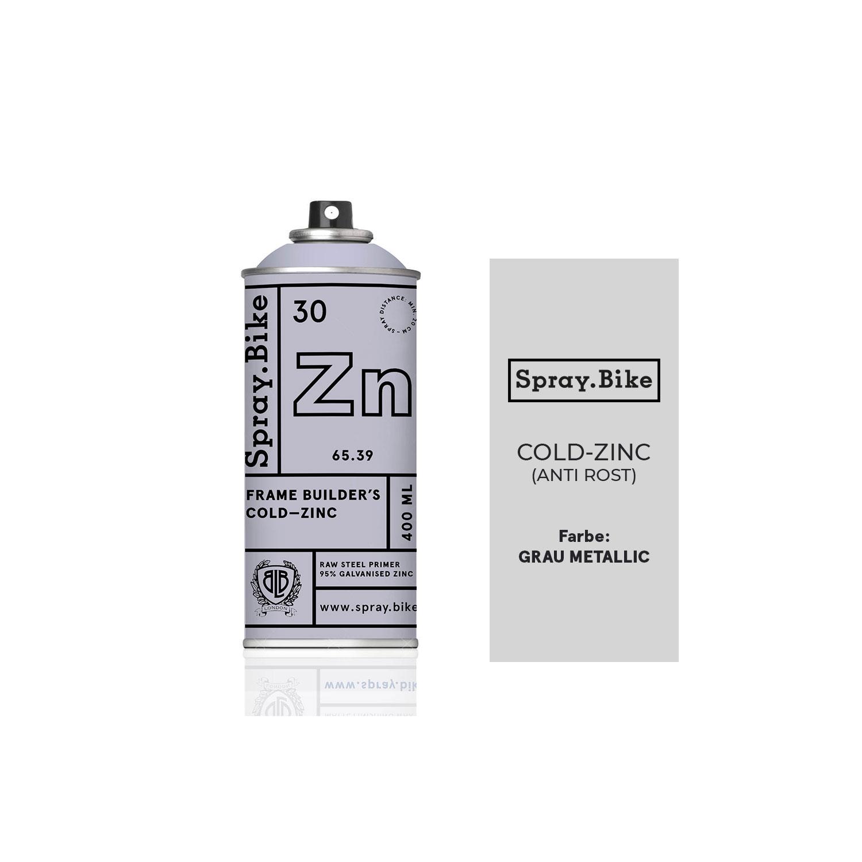 SPRAY.BIKE 400 ML P&F - Cold Zinc – Bild 1