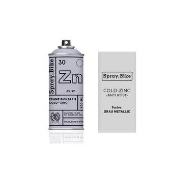 SPRAY.BIKE 400 ML P&F - Cold Zinc