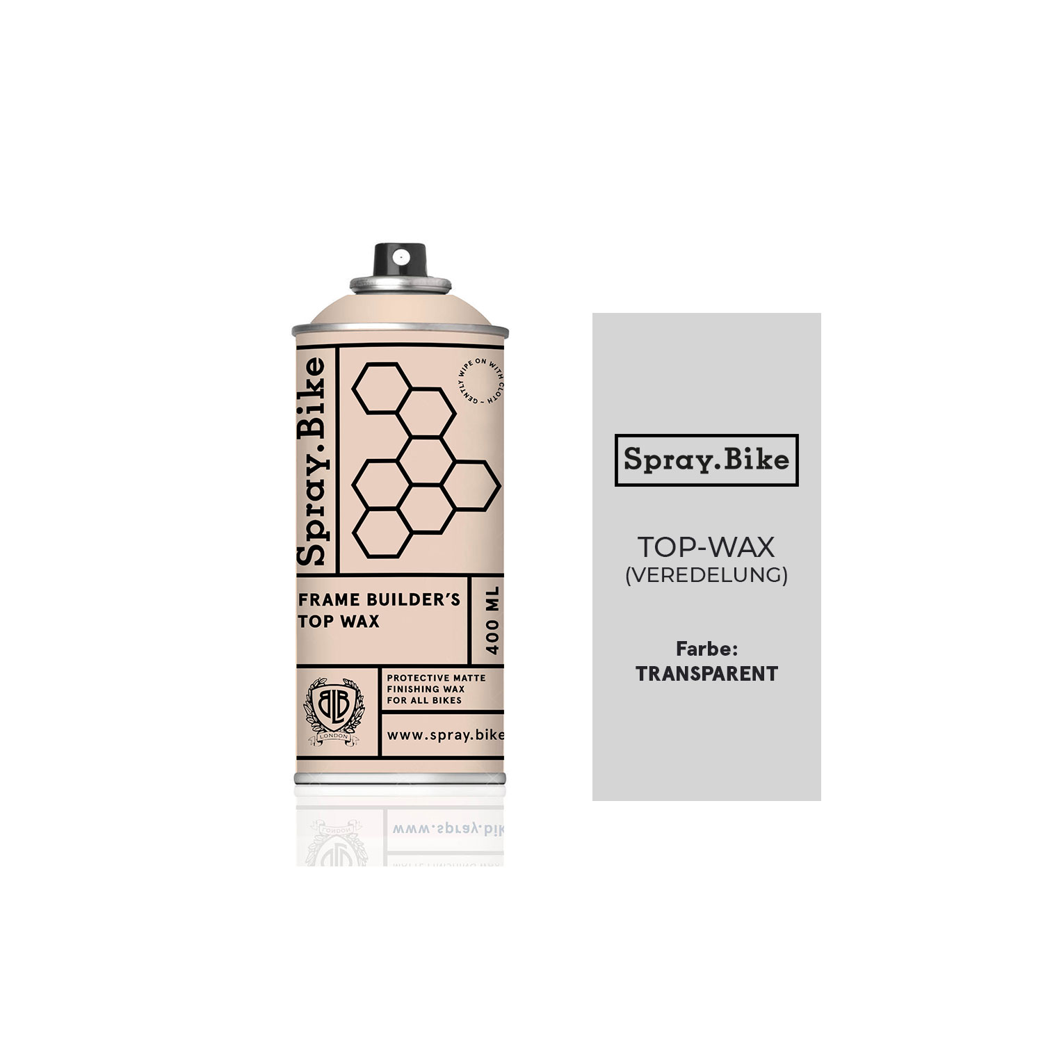 SPRAY.BIKE 400 ML P&F - Top Wax – Bild 1