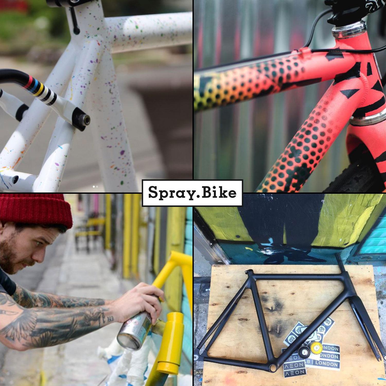urban zweirad fahrrad rahmen spachtelmasse spraydose. Black Bedroom Furniture Sets. Home Design Ideas