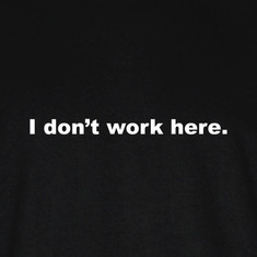 I don't work here.