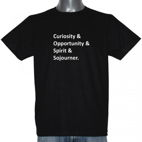 Curiosity, Opportunity, Spirit, Sojourner