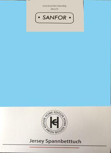 Spannbettlaken Jersey 100x200cm 100% BW verschiedene Farben – Bild 7