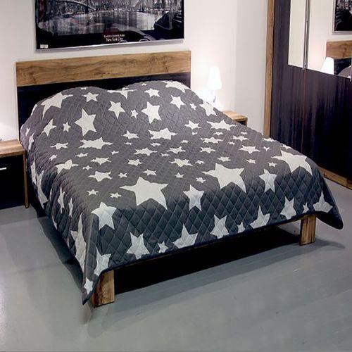 Tagesdecke Bettüberwurf Steppdecke 240x220cm Sterne