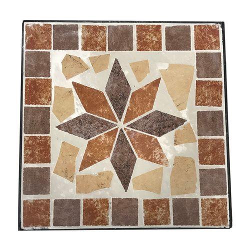 Mosaik Blumenhocker Metall 3er Set quadratisch – Bild 3