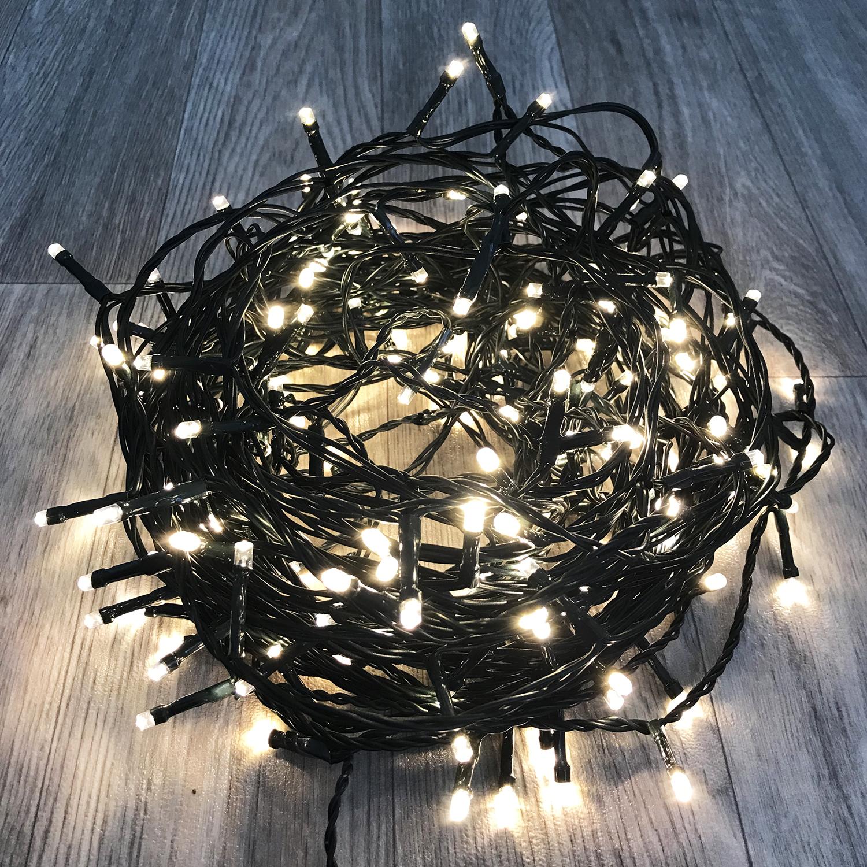 96er led lichterkette warmwei weihnachten - Lichterkette weihnachtsbaum anbringen ...