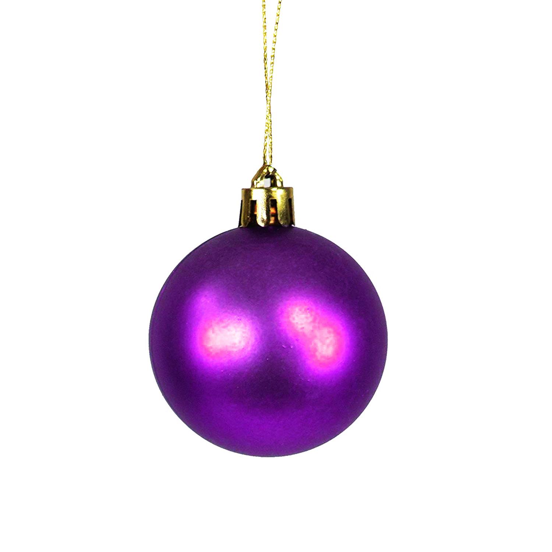 30tlg christbaumkugeln weihnachtskugeln lila 4 5 6 7cm weihnachten alles f r den weihnachtsbaum - Christbaumkugeln lila ...