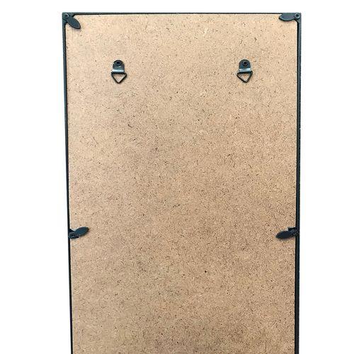 Bilderrahmen für 3 Foto´s Schwarz H59xB20xT2,5cm – Bild 2