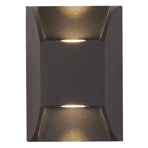 LED Wandleuchte Wandlampe Druckguss Aluminium 2 x 3W LED  – Bild 1