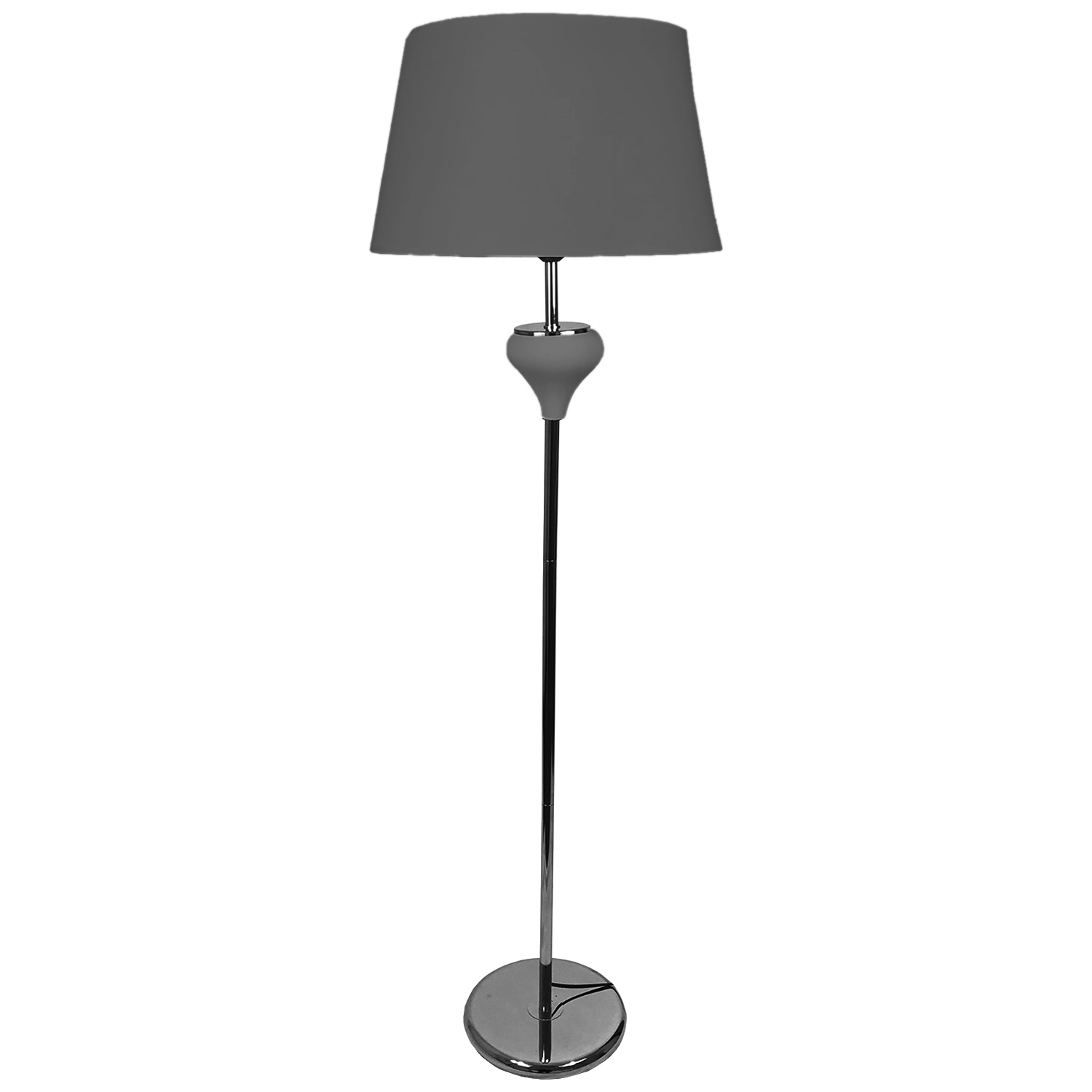 elegante stehlampe anthrazit 150 cm m bel wohnen beleuchtung. Black Bedroom Furniture Sets. Home Design Ideas