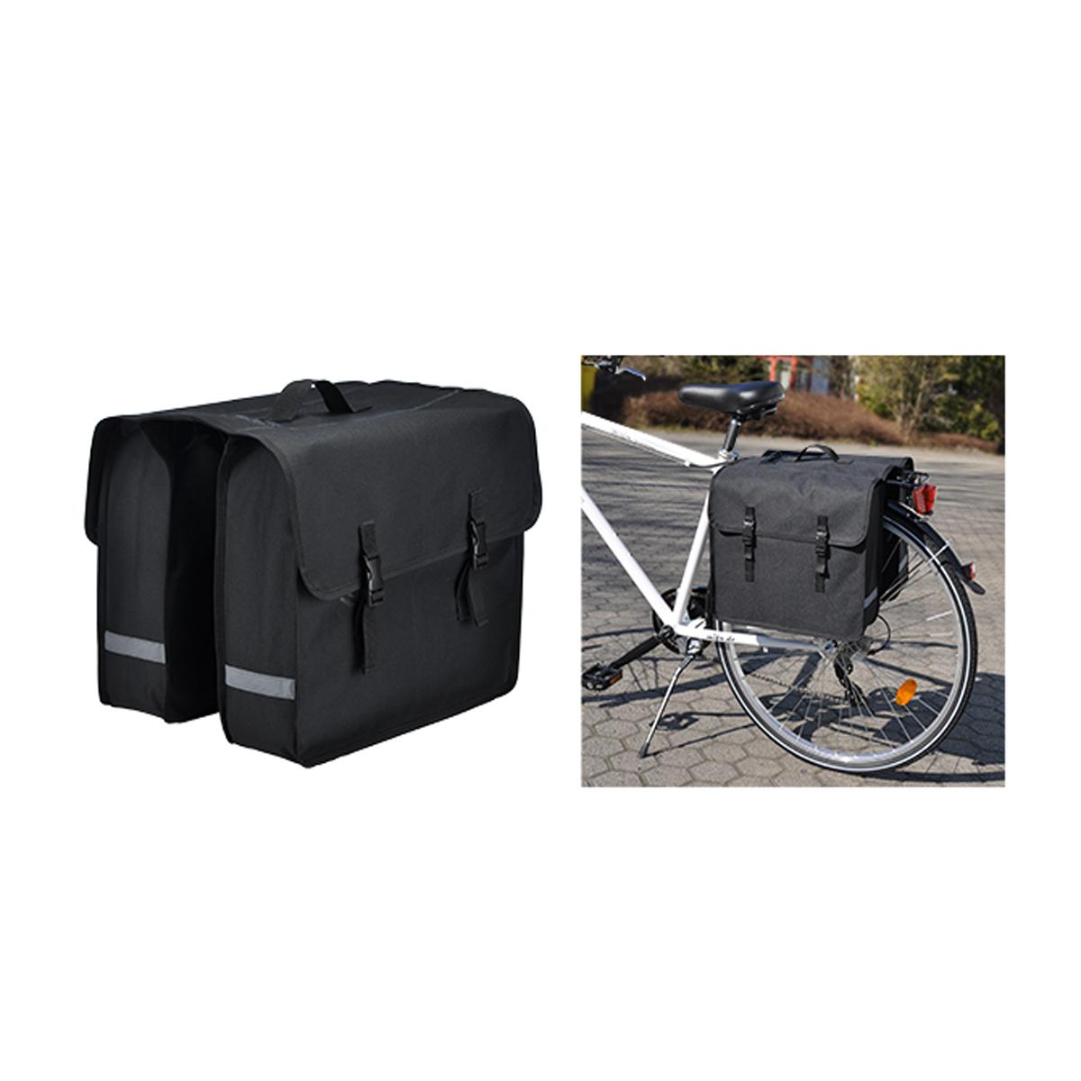 fahrrad gep cktasche schwarz wasserabweisend haushalt koffer und trolleys. Black Bedroom Furniture Sets. Home Design Ideas