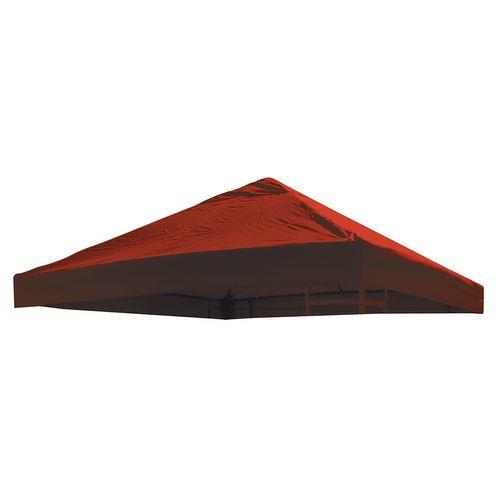 universal ersatz dach pavillon 3x3 m farbe rot pvc. Black Bedroom Furniture Sets. Home Design Ideas
