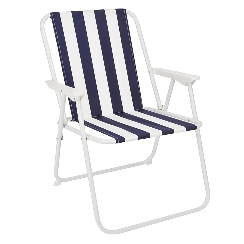 campingstuhl blau wei gestreift garten campingm bel. Black Bedroom Furniture Sets. Home Design Ideas