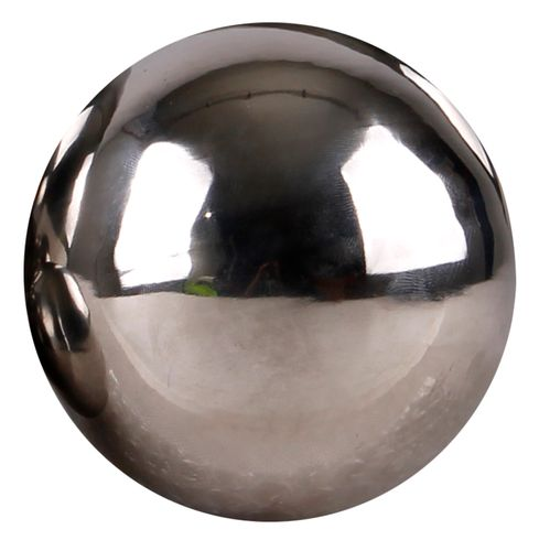Dekokugel aus Edelstahl Schwimmkugeln Ø28cm glänzend