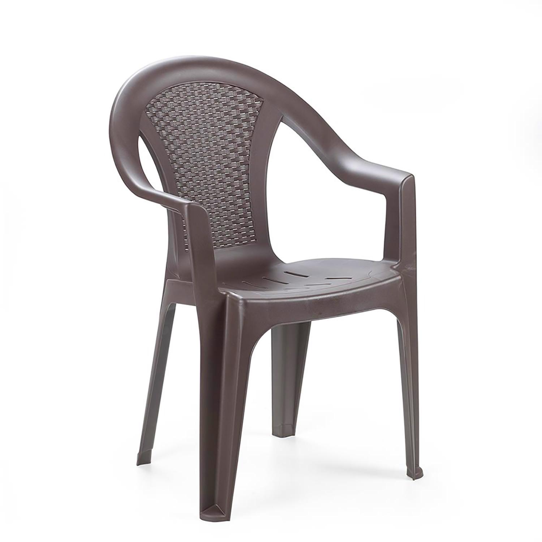 stapelstuhl ischia rattan optik mokka garten gartenst hle. Black Bedroom Furniture Sets. Home Design Ideas