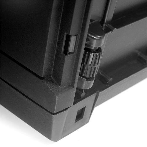 Auflagenbox auf Rollen Kunststoff Anthrazit 290L – Bild 2