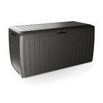 Auflagenbox auf Rollen Kunststoff Anthrazit 290L