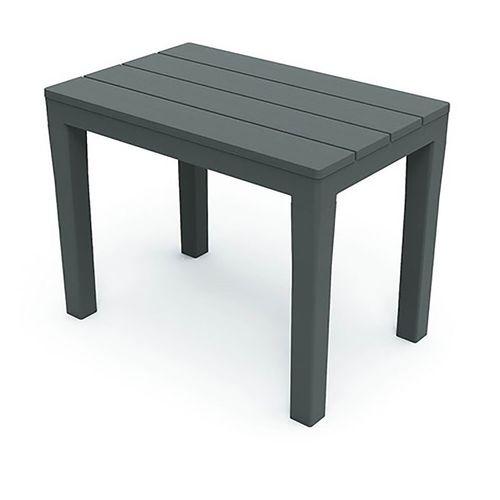 Sitzbank Kunststoff 60x38x45cm Anthrazit