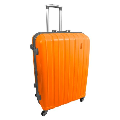 Hartschale Bordcase Koffer-Trolley PP Orange – Bild 1