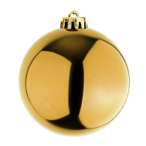 XXL Weihnachtsbaumkugeln Dekokugel Christbaumkugeln Gold Ø 20cm