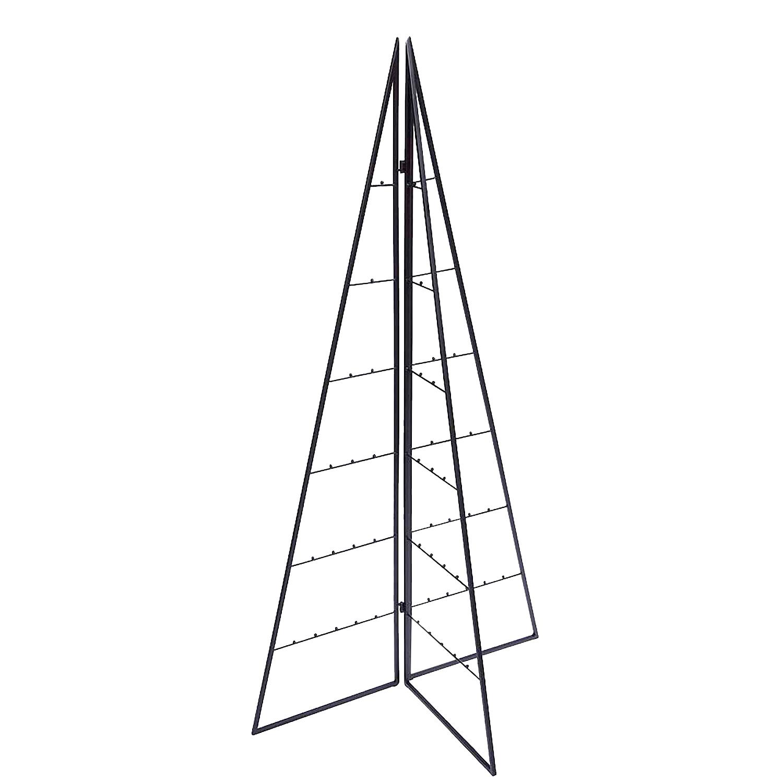 deko weihnachtsbaum tannenbaum christbaum metall schwarz. Black Bedroom Furniture Sets. Home Design Ideas