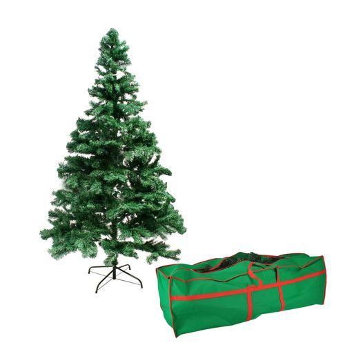 Weihnachtsbaum 180 cm inkl Ständer grün + Gratis Aufbewahrungstasche – Bild 1