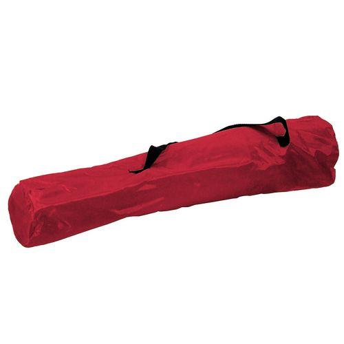 3-teiliges Campingmöbel Set rot XL Tisch 80x60x68cm + Campingstühle mit Tasche – Bild 5