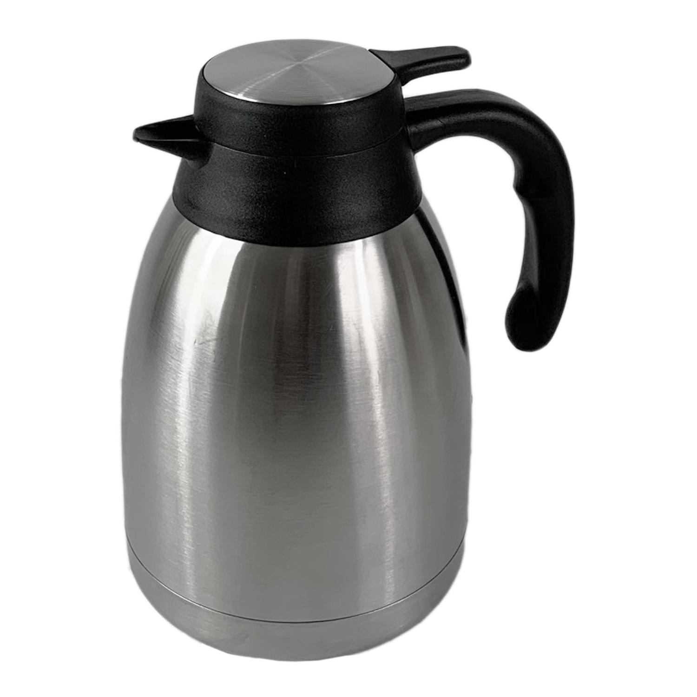 Isolierkanne Kaffeekanne Thermoskanne Teekanne 1,5 Liter doppelwandig