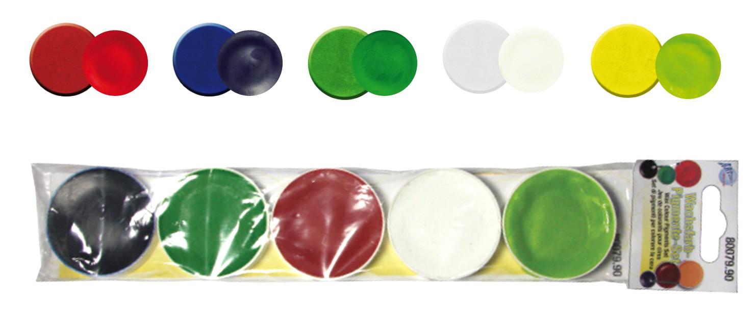 CREARTEC Wachs - Farbpigmente - Set zur Herstellung von Kerzen