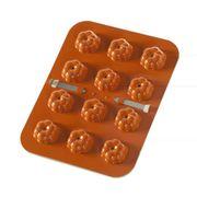 """Nordic Ware Cake Pops Form """" Kürbis """" in stylischem Orange für herbstliche Cake Pops"""