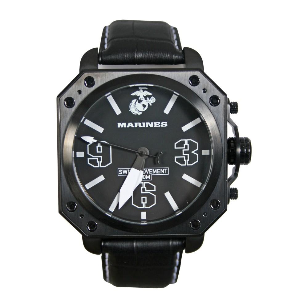 USMC - United States Marine Corps Watch Militär Armbanduhr 37WA0142G01A
