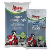 Poliboy - Staubmeister Auto + Felgen Feuchttücher - Auto Set - Reinigungstücher