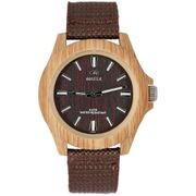 Marea Woodlook L Unisex Armbanduhr in Holz Optik B41193/3