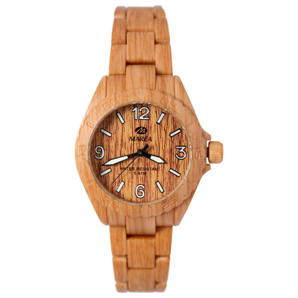 Marea Woodlook M Unisex Armbanduhr in Holz Optik B35297/2
