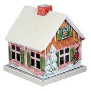 KNOX - Räucherhaus aus Metall - verschiedene Motive der Jahreszeiten – Bild 9