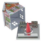 KNOX - Räucherhaus aus Metall - verschiedene Motive der Jahreszeiten – Bild 10
