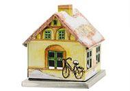 KNOX  Räucherhaus aus Metall im Set-24 Räucherkerzen Größe M Tanne- Lavendelduft – Bild 11