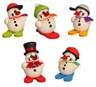 Seiffener Volkskunst - Kugelräucherfiguren Mini Cool-Man - verschiedene Räucherfiguren im Mini Format