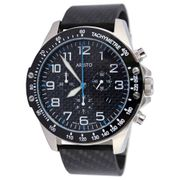 Aristo Quarz Herrenuhr Timing Carbon Trophy - Chronograph Blau 4H157B