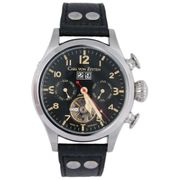 Carl von Zeyten Black Forest Edition Automatik Herren Armbanduhr Wutach CVZ0025BK - Made in Germany 001