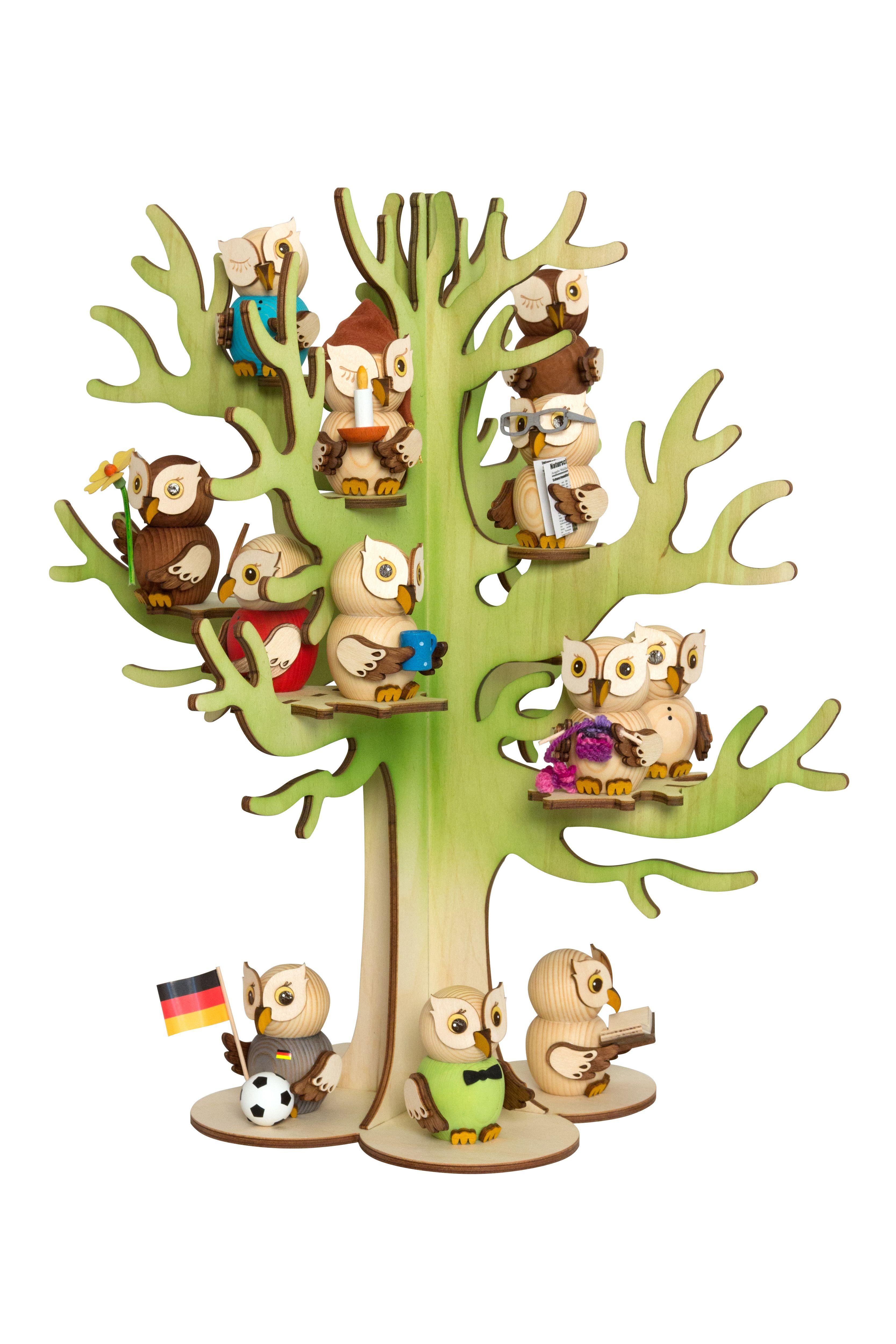 Drechslerei Kuhnert Holzfigur Mini Eulen Aus Holz Sammlerstücke
