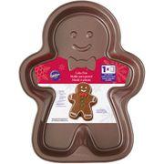 Wilton Backform Lebkuchenmännchen - zum Herstellen von weihnachtlichem Gebäck - Gingerbread Boy - Weihnachten