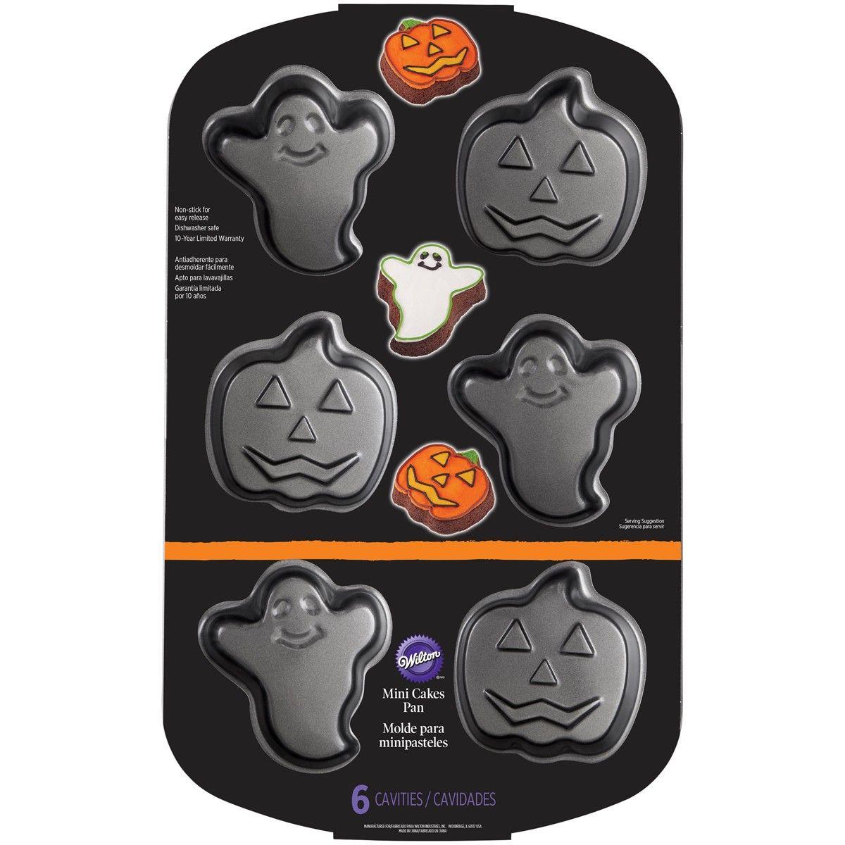 Wilton 3d Backform Halloween Geist Kurbis Mini Motivbackform