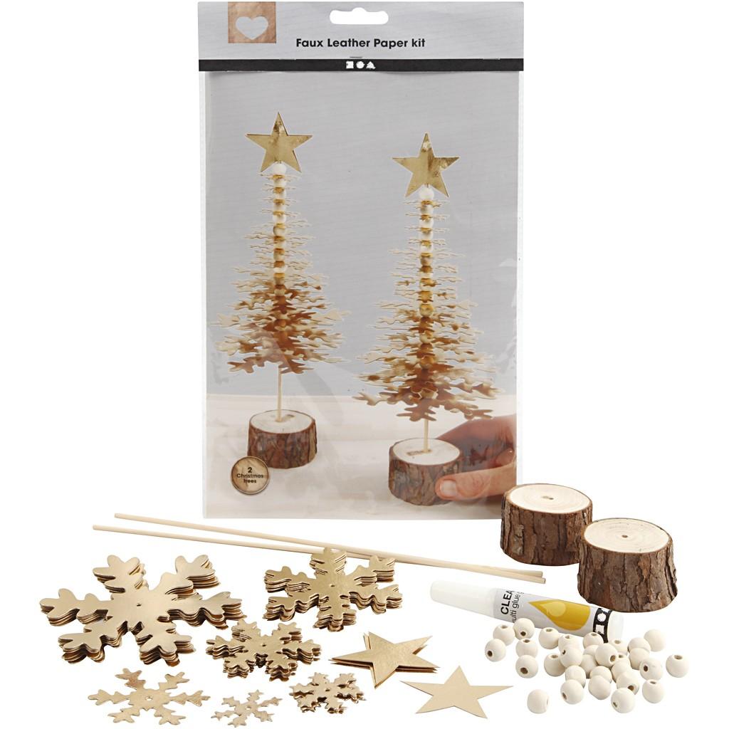 Creativ Company Materialset Bastelset Weihnachten Dekoration Winter Basteln