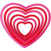 Wilton Keksausstecher verschachteltes Herz - Plätzchenformen für den Valentinstag