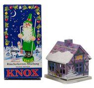 KNOX Räucherhaus Adventshaus aus  Metall - Setauswahl vers. Weihnachtsmotive  – Bild 16