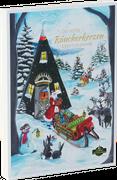 Räucherkerzen Adventskalender - Weihnachten - Advent - Rauchfigur - Kalender